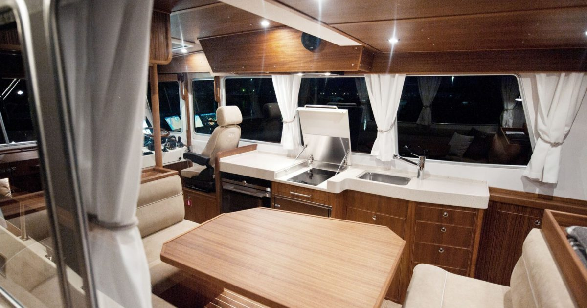 Targa 46 Custom Crafted Interior with Well-Designed Details Ready for Every Adventure