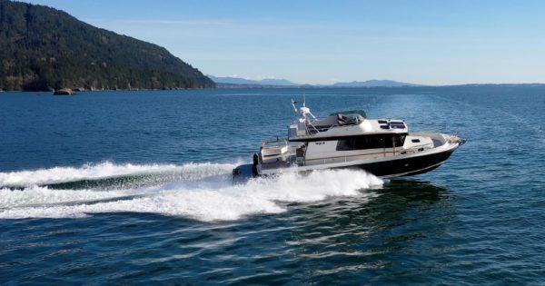 Photo of Targa 46 Cruising in Puget Sound